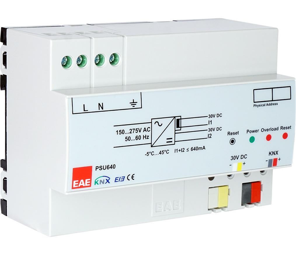 psu640 web ana menü - KNX Sistem Elemanları