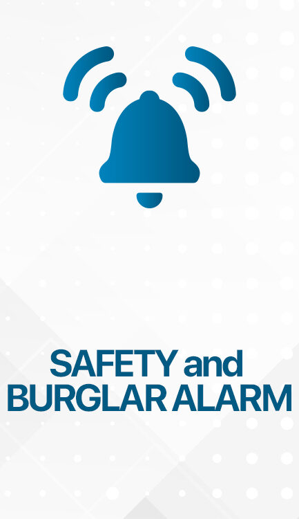 SAFETY AND BURGLAR ALARM 433x750 - VALESA Touch Panel