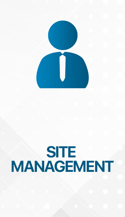 SITE MANAGEMENT 433x750 - VALESA Touch Panel