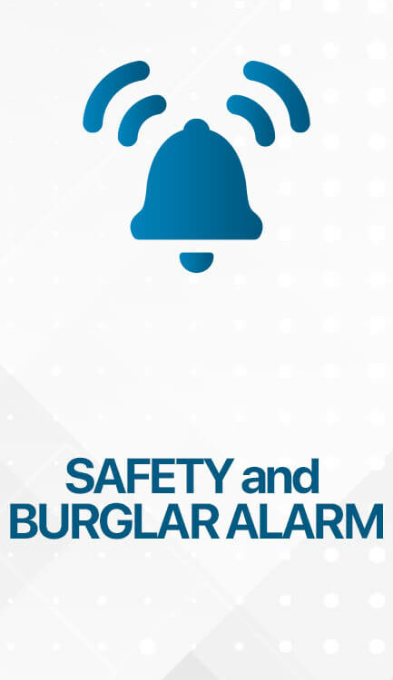 SAFETY AND BURGLAR ALARM 433x750 - KNX Smart Home & Residential Building Solutions