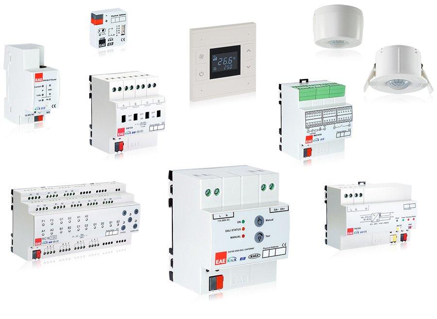 eae technology knx products - KNX Ticari & Endüstriyel Bina Çözümleri