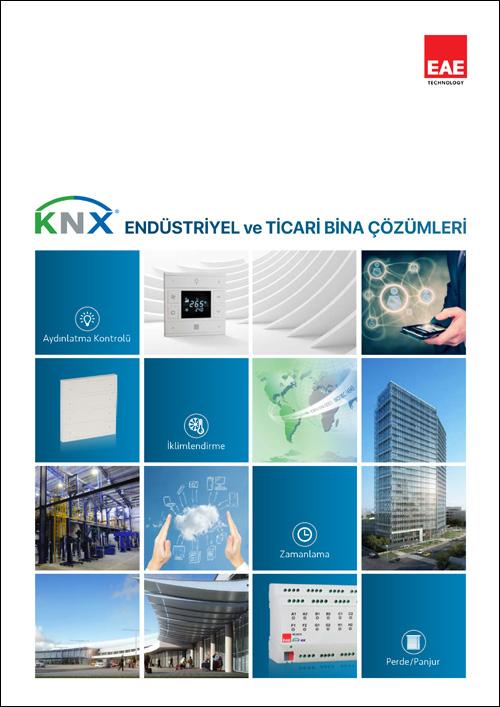 knx endüstriyel ticari bina çözmleri kataloğu kapağı - Kataloglar