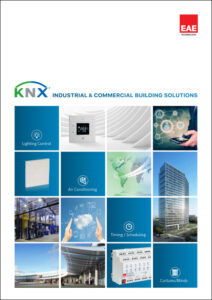 knx industrial commercial building solutions catalog cover