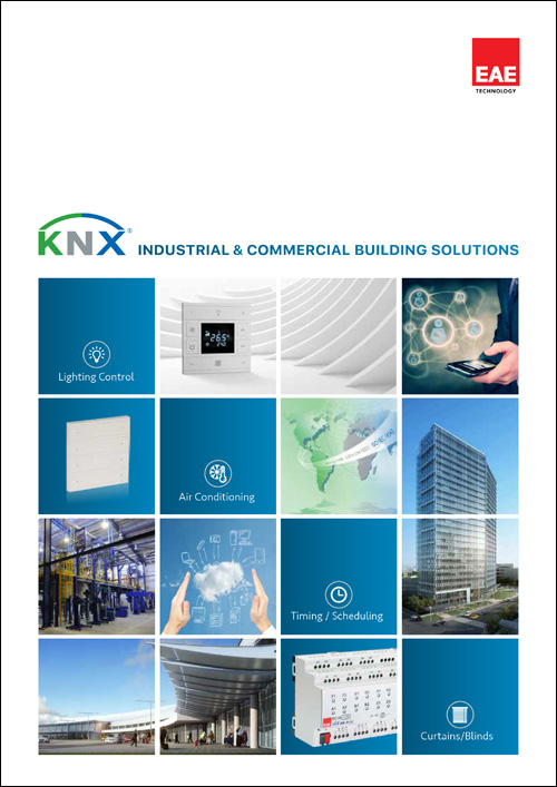 knx industrial commercial building solutions catalog cover - Catalogs
