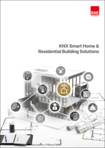 knx smart home residential building solutions catalog cover