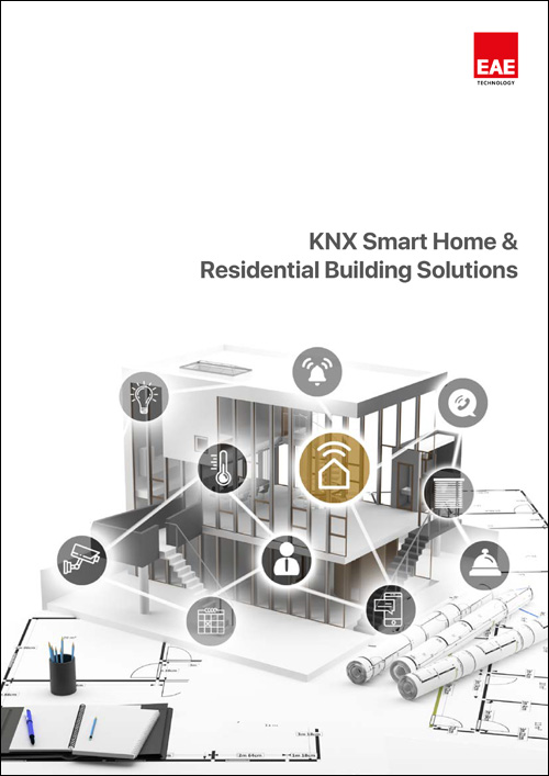 knx smart home residential building solutions catalog cover - Catalogs